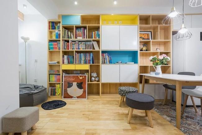 Căn hộ 50m² cho 3 thế hệ đẹp đến nỗi mỗi mét vuông đều khiến mọi người đắm say ngắm nhìn - Ảnh 6.