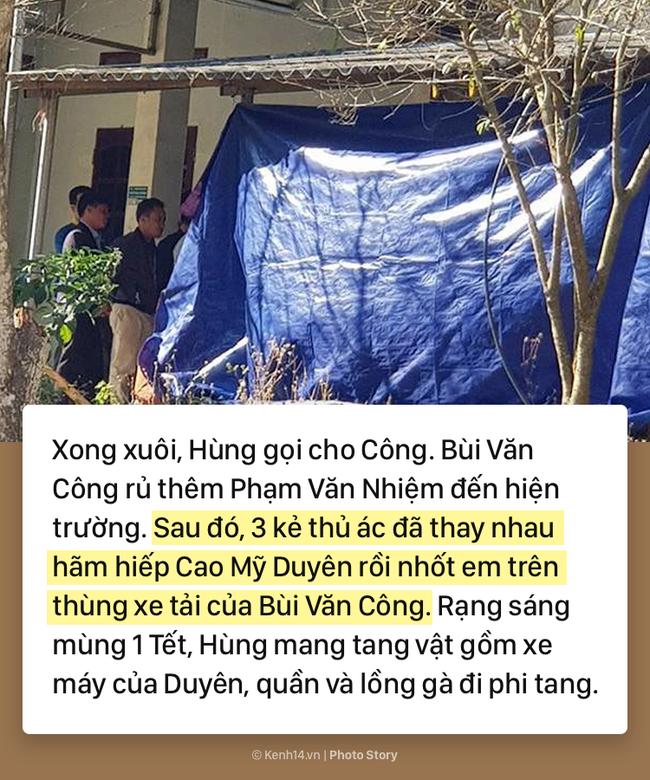 Hành trình gây án man rợ qua lời khai của 5 đối tượng nghiện ngập thay nhau hãm hiếp và sát hại nữ sinh giao gà ở Điện Biên - Ảnh 7.