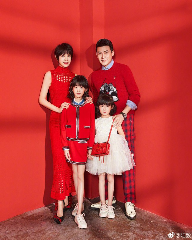 Bao Chửng Lục Nghị khoe ảnh Tết, netizen chỉ chú ý đến đôi chân gầy đến mức báo động của cô con gái - Ảnh 2.