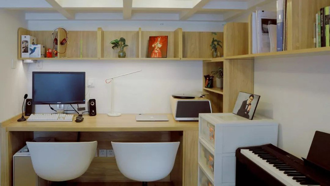 Căn hộ 48m² hẹp và dài gây ấn tượng với thiết kế mở có thể ở đến 6 người  - Ảnh 9.