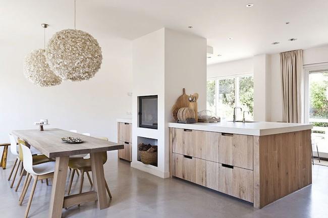 6 phòng bếp chứng minh cho bạn thấy nội thất gỗ mộc chính là đũa thần cho nơi nấu nướng - Ảnh 1.