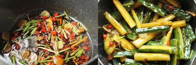 Dưa leo trộn chua cay: Cách làm dưa leo trộn chua cay cho gia đình - Ảnh 4.