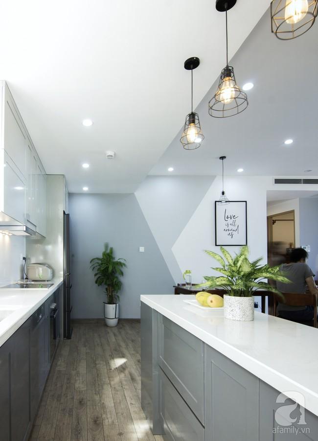 Căn hộ 95m² tạo ấn tượng đặc biệt nhờ lối thiết kế đơn giản, tinh tế ở Hà Đông, Hà Nội - Ảnh 8.