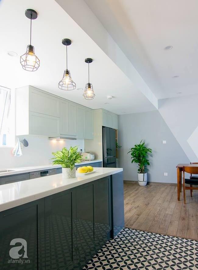 Căn hộ 95m² tạo ấn tượng đặc biệt nhờ lối thiết kế đơn giản, tinh tế ở Hà Đông, Hà Nội - Ảnh 6.