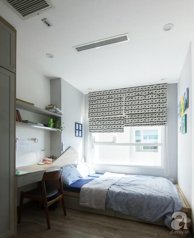 Căn hộ 95m² tạo ấn tượng đặc biệt nhờ lối thiết kế đơn giản, tinh tế ở Hà Đông, Hà Nội - Ảnh 12.