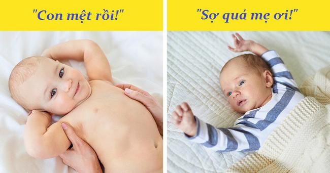 """Những ngôn ngữ cơ thể mà bé sơ sinh rất muốn """"nói"""" với mẹ, các mẹ nên cực kỳ lưu ý nhé - Ảnh 1."""