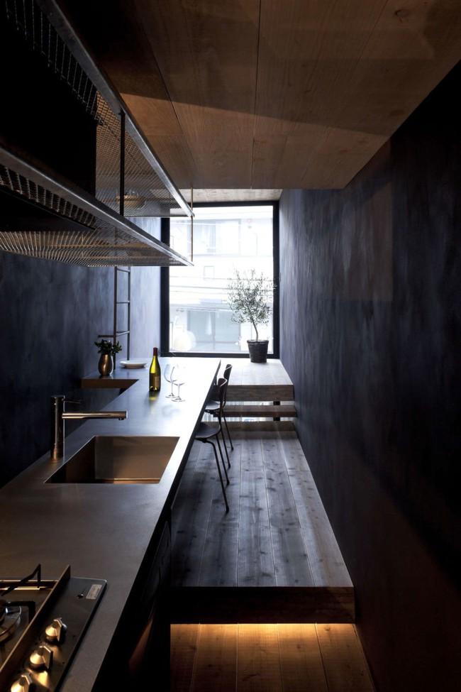 Với chiều rộng 1,8m, ngôi nhà siêu mỏng ở Nhật Bản vẫn tạo sự thoải mái và tiện nghi bất ngờ cho người sử dụng - Ảnh 9.
