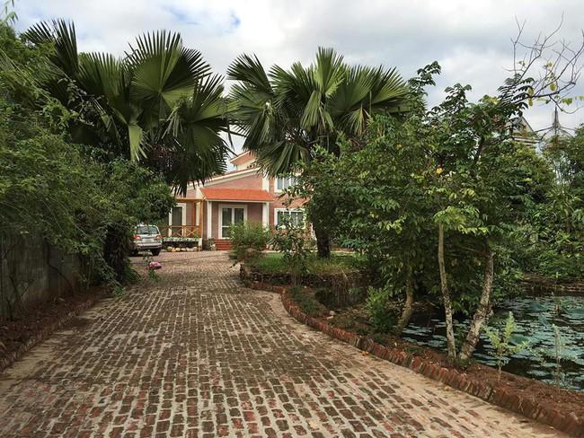 Ngôi nhà ở ngoại ô xanh mát như một công viên thu nhỏ của vợ chồng diễn viên Hồng Đăng - Ảnh 3.