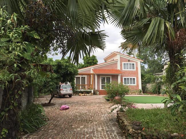 Ngôi nhà ở ngoại ô xanh mát như một công viên thu nhỏ của vợ chồng diễn viên Hồng Đăng - Ảnh 2.