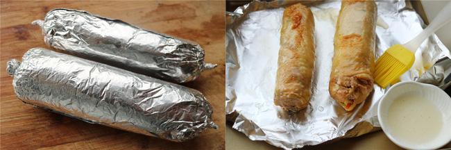 Cách làm gà nướng cuộn rau củ tuyệt ngon, hấp dẫn cho bữa cơm tối  - Ảnh 4.