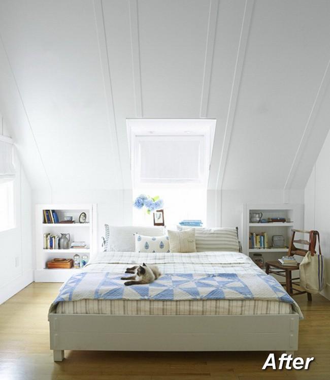 Những ý tưởng hoàn hảo để cải tạo phòng ngủ tầng áp mái - Ảnh 4.