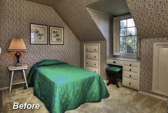 Những ý tưởng hoàn hảo để cải tạo phòng ngủ tầng áp mái - Ảnh 5.