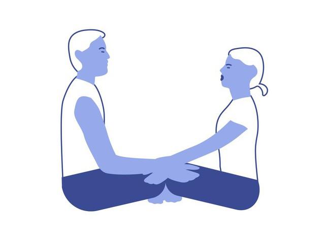 Những bài tập yoga giúp các cặp đôi tăng cường mối quan hệ - Ảnh 2.