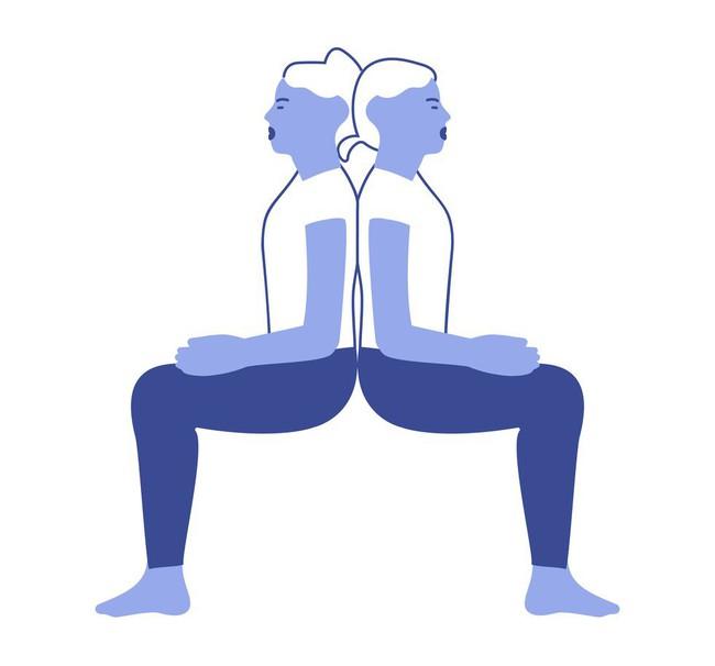 Những bài tập yoga giúp các cặp đôi tăng cường mối quan hệ - Ảnh 4.