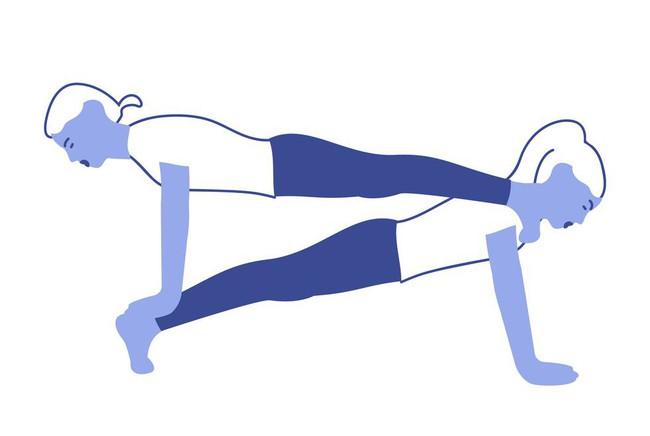 Những bài tập yoga giúp các cặp đôi tăng cường mối quan hệ - Ảnh 8.