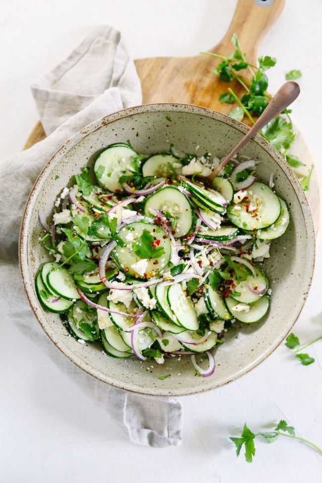 Salad ăn kiêng: có 2 món salad ăn kiêng từ dưa leo bạn cần học ngay  - Ảnh 4.