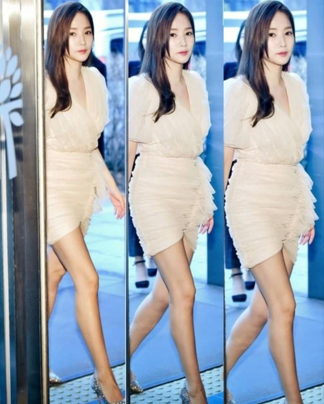 Chỉ vỏn vẹn 30 giây xuất hiện nhưng Park Min Young khiến bao người ngẩn ngơ vì nhan sắc và đôi chân cực phẩm  - Ảnh 4.