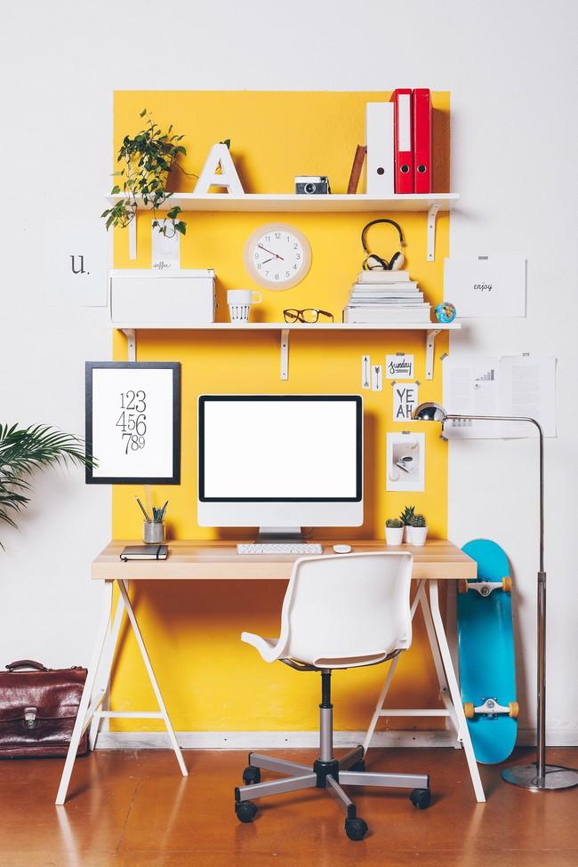 Góc làm việc đẹp như kiến trúc sư decor sẽ nằm trong tầm tay nếu thực hiện ngay 3 điều này - Ảnh 4.