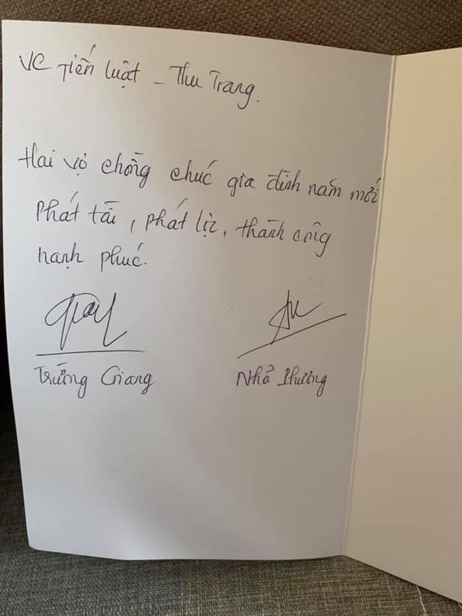 Không chuẩn bị quà Tết sang chảnh, vợ chồng Nhã Phương - Trường Giang tự tay làm món quà mộc mạc này tặng đồng nghiệp - Ảnh 4.