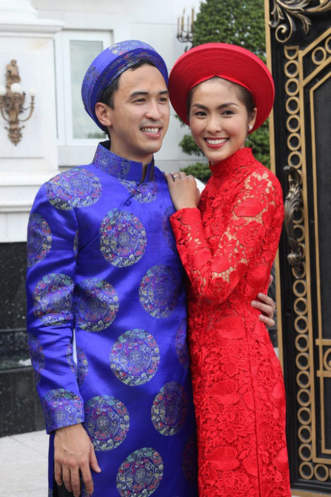 """Diện lại áo cưới, chồng Hà Tăng còn khiến dân tình ghen tị vì hành động """"giữ vợ"""" quá đỗi ngọt ngào - Ảnh 3."""