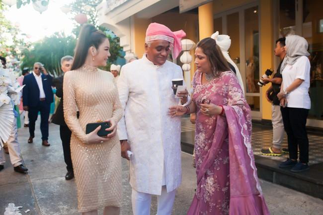 Đám cưới ngàn tỉ của tỷ phú Ấn Độ bất ngờ góp mặt ngôi sao giải trí duy nhất của showbiz Việt: Lý Nhã Kỳ - Ảnh 9.