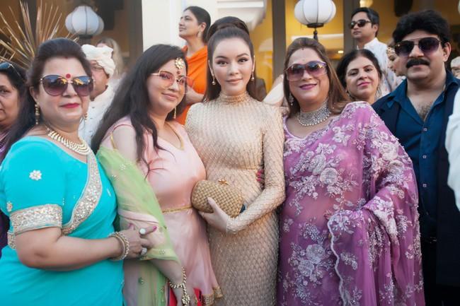 Đám cưới ngàn tỉ của tỷ phú Ấn Độ bất ngờ góp mặt ngôi sao giải trí duy nhất của showbiz Việt: Lý Nhã Kỳ - Ảnh 12.