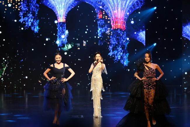 Đêm Hội Chân Dài 12: Không diễn kiểu Victorias Secret, Ngọc Trinh đằm thắm đến lạ khi catwalk với đầm dạ hội - Ảnh 5.