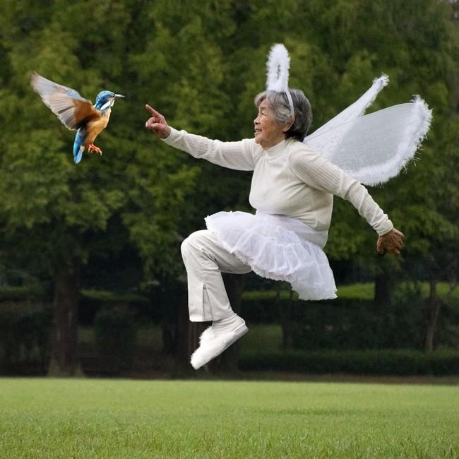 """Từ bỏ cuộc sống buồn chán, cụ bà Nhật tìm thấy niềm đam mê lúc 72 tuổi rồi thành ngôi sao MXH nhờ bộ ảnh """"sống ảo"""" cực chất - Ảnh 8."""