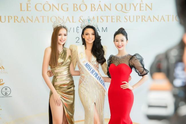 Bị so sánh không thể bằng Minh Tú khi thi Hoa hậu Siêu quốc gia, Ngọc Châu đáp trả thế này  - Ảnh 4.