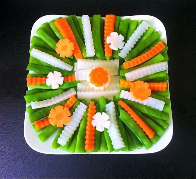 Ngưỡng mộ sự sáng tạo của 8x Hà Nội xếp các loại rau củ quen thuộc thành hình siêu xinh - Ảnh 8.