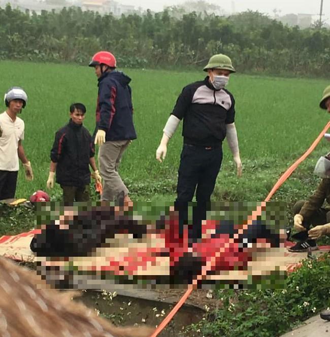 Thái Bình: Phát hiện đôi vợ chồng tử vong dưới mương nước do tai nạn giao thông - Ảnh 1.
