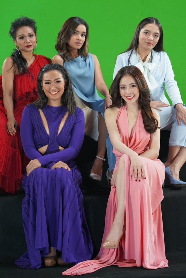 Bị chê không đủ khả năng làm ca sĩ, Chi Pu vẫn tự tin hát tiếng Thái giữa dàn mỹ nhân châu Á - Ảnh 6.