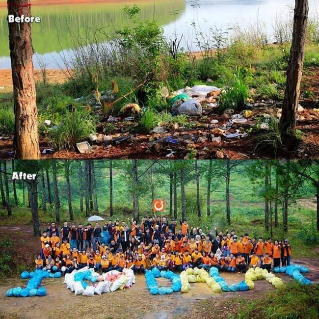Trào lưu dọn rác đang gây bão MXH: Giới trẻ Việt hưởng ứng nhiệt thành, cùng nhau làm sạch môi trường sống chung - Ảnh 3.