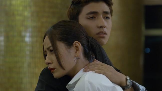 Bị mẹ kế phát hiện giả mạo thân phận, Chi Pu trơ trẽn ngã vào lòng Bình An khóc nức nở - Ảnh 5.