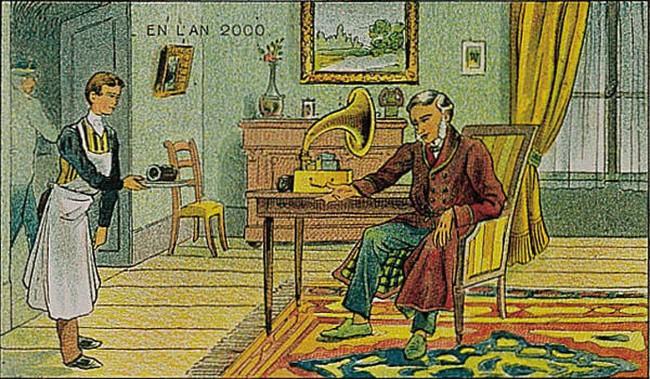 Đây là cách mà con người 100 năm trước tưởng tượng ra thế giới tương lai, có những điều đã trở thành hiện thực - Ảnh 1.