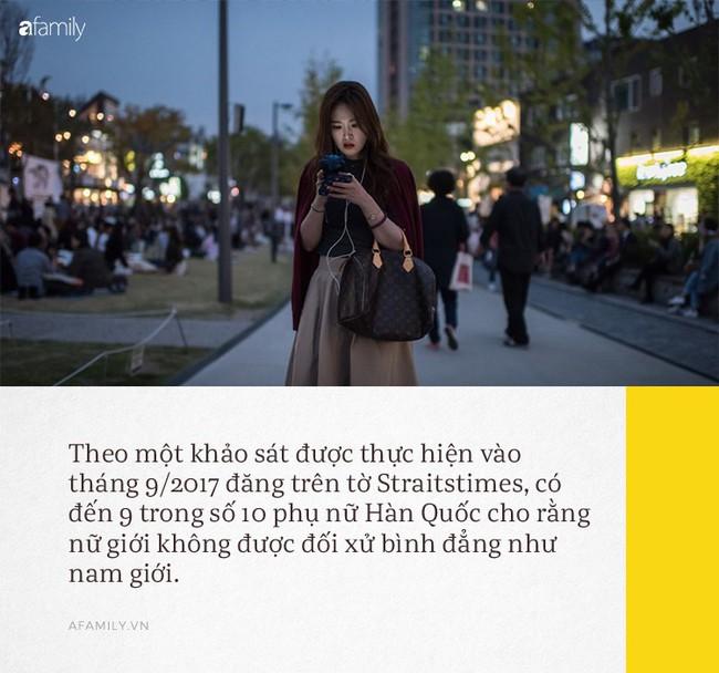 Hàn Quốc - khi đời không như phim: Phụ nữ chịu nhiều chèn ép nơi công sở, đi đâu cũng sợ bị quay lén và áp lực phải luôn đẹp - Ảnh 3.