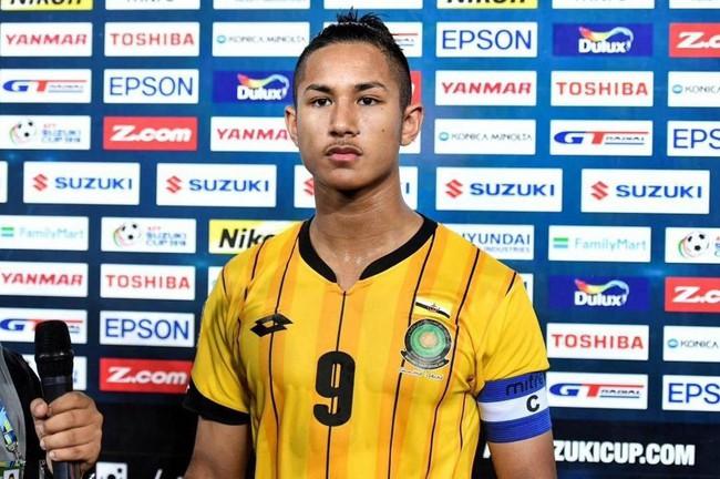 Cận mặt chân sút con nhà hoàng tộc, sở hữu tài sản 461 nghìn tỷ của đội tuyển Brunei tại vòng loại U23 Châu Á - Ảnh 1.