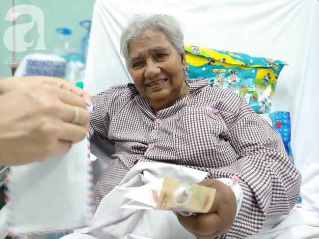 Cụ bà bị giật vé số té đập đầu hôn mê được hỗ trợ 50 triệu đồng: Tiền dư tôi chuyển cho bệnh nhân khác - Ảnh 5.