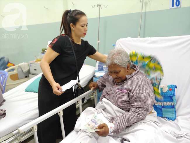Cụ bà bị giật vé số té đập đầu hôn mê được hỗ trợ 50 triệu đồng: Tiền dư tôi chuyển cho bệnh nhân khác - Ảnh 7.