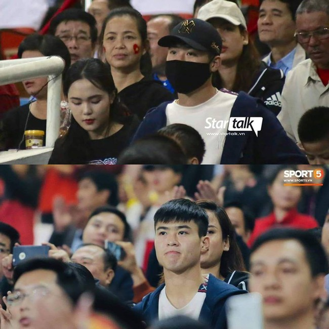 Ai cũng xót khi Đình Trọng bị đấm nằm sân, nhưng biểu cảm của Mạnh gắt trên khán đài mới gây chú ý hơn cả - Ảnh 3.