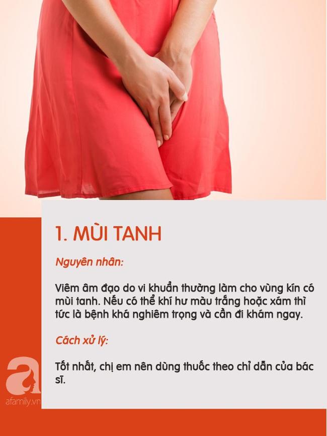5 loại mùi có thể xuất hiện ở vùng kín chị em nên phân biệt được để biết mình đang bị làm sao - Ảnh 1.