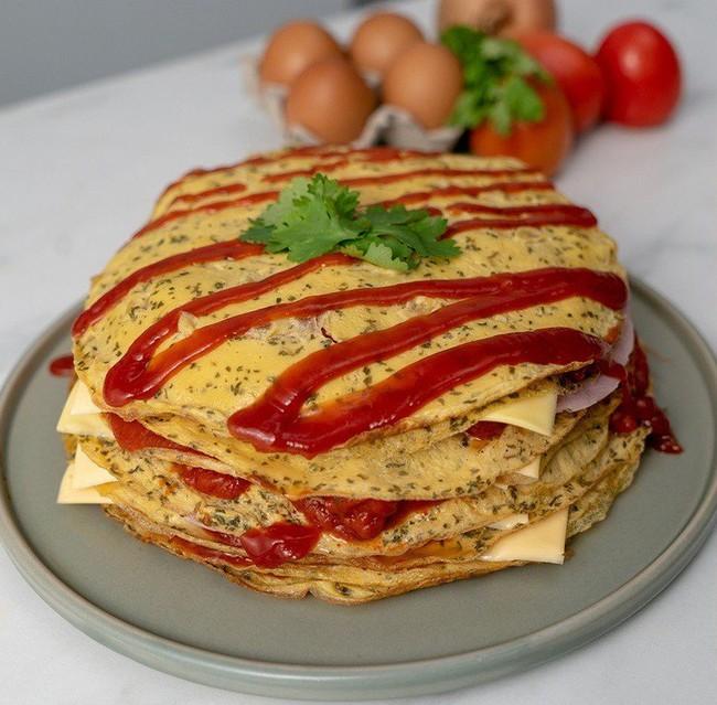 Trứng chiên mà làm làm thế này ăn với cơm bao nhiêu cũng hết - Ảnh 4.
