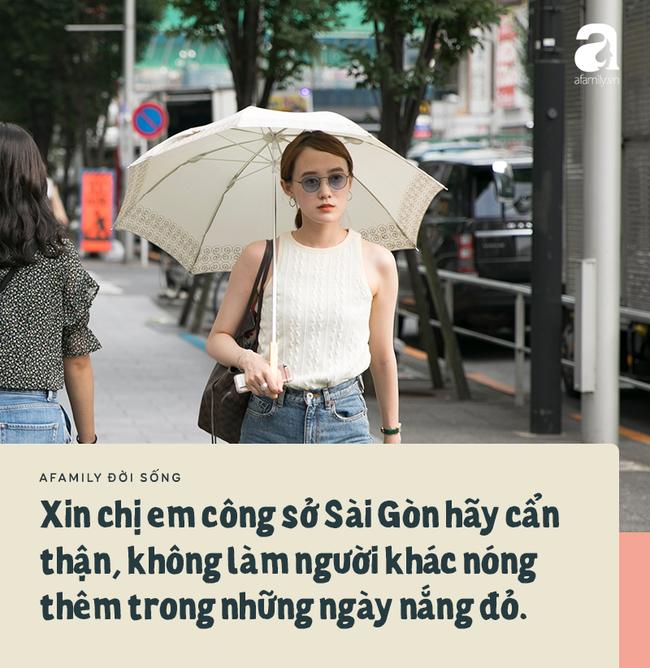 Chuyện ô dù của chị em công sở Sài Gòn: Da có thể đen nhưng ý tứ nhất định không được để mất! - Ảnh 3.