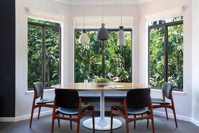 Chiêm ngưỡng vẻ đẹp thanh lịch hút hồn của những căn phòng ăn màu cơ bản - Ảnh 14.