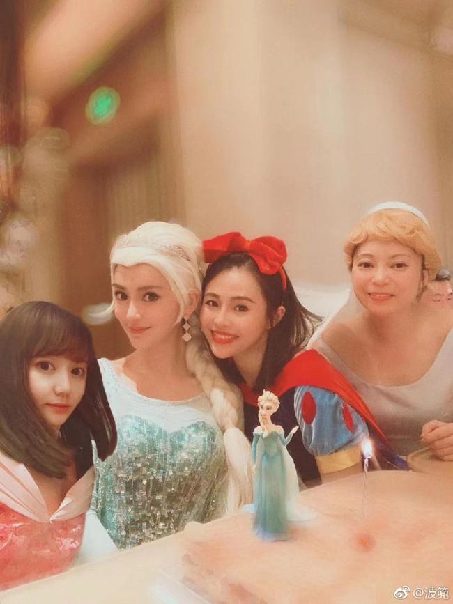Sinh nhật hoành tráng của Angela Baby: Nữ chính cosplay Elsa, dàn bạn quẩy hết mình, nhưng ông xã không có mặt? - Ảnh 6.