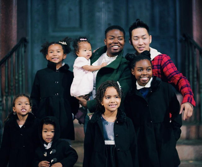 Chuyện tình của cặp đôi chàng Hàn nàng gốc Phi: Bạn từ thời trung học, đến với nhau khi nàng đã qua 2 lần đò và có tận 4 đứa con riêng - Ảnh 4.