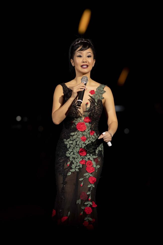 Mỹ Tâm âu yếm chỉnh lại áo cho Hà Anh Tuấn trước hàng nghìn người trên sân khấu Son - Ảnh 8.
