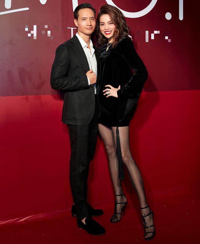 Hồ Ngọc Hà xuất hiện sang chảnh, tay trong tay tình tứ cùng Kim Lý - Ảnh 3.