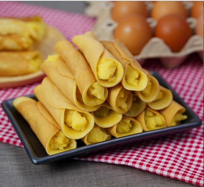 Có món bánh cuộn làm chẳng cần lò nướng mà ngon đẹp cực kỳ - Ảnh 7.