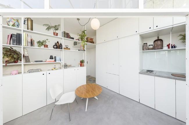 Căn hộ 25m² mát về hè, ấm về đông và luôn rộng hơn diện tích thực bởi thiết kế nội thất thông minh - Ảnh 5.